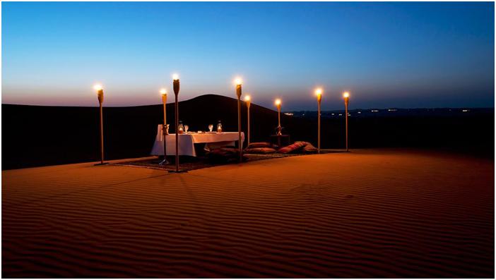 Overnight Desert Camping in Dubai